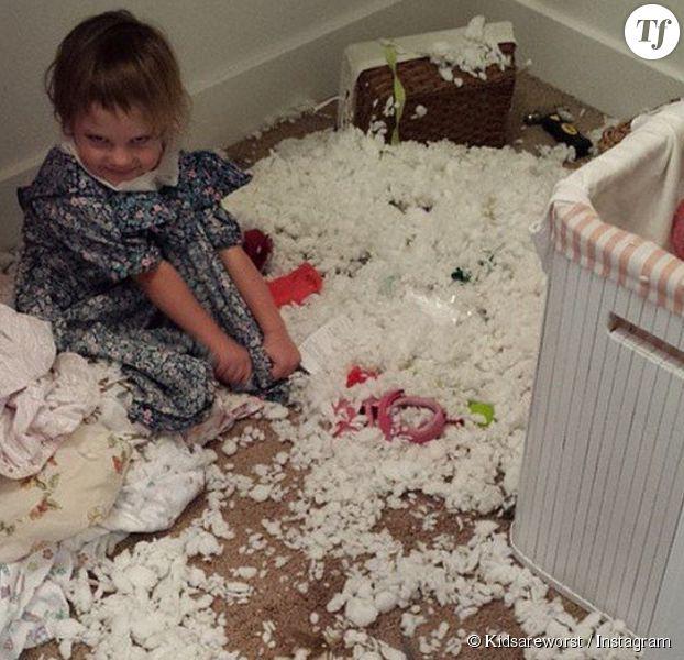 les enfants sont parfois des monstres la preuve en images terrafemina. Black Bedroom Furniture Sets. Home Design Ideas