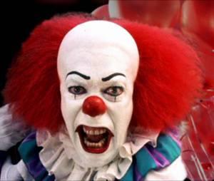 Le clown de Ça, il est revenu, joué par Tim Curry.