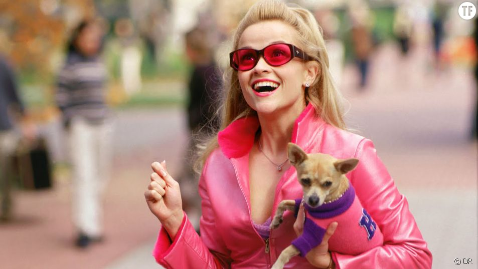 "Elle Woods, avocate so girly dans ""La revanche d'une blonde"""