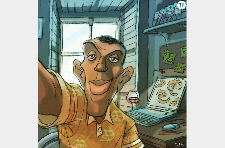 Stromae a fait une arrivée, en dessin, sur Instagram