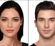 """Voici les deux """"plus beaux visages du monde"""""""