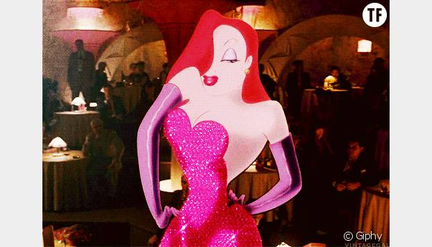 Jessica Rabbit dans le film d'animation Roger Rabbit