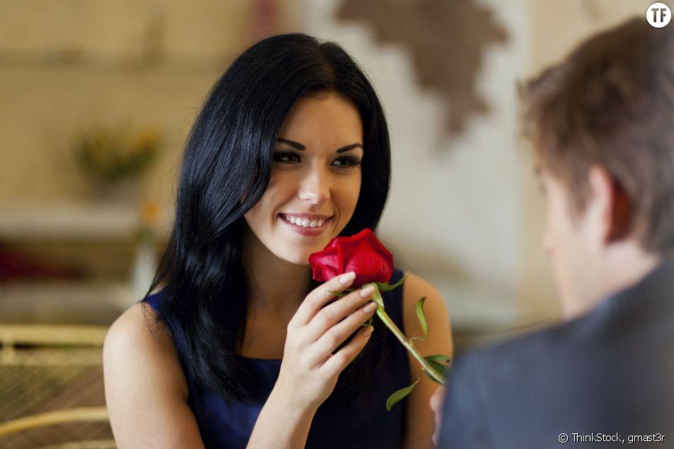 Couple lors d'un premier rendez-vous