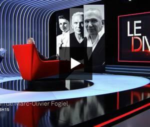 """""""L'enfant terrible de la mode"""" était l'invité de Marc-Olivier Fogier mardi 5 mai."""