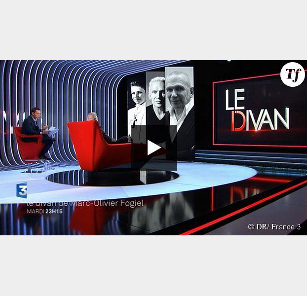 Le divan de marc olivier fogiel jean paul gaultier for Divan le terrible lucien