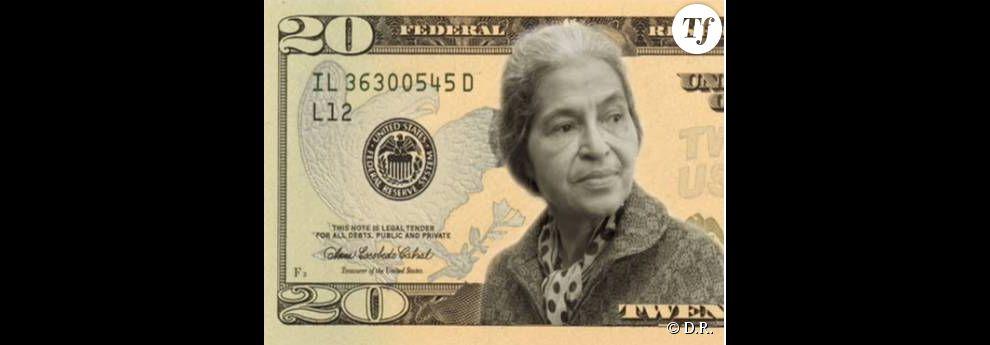 Le collectif Women on 20s milite pour la présence d'une femme, dont Rosa Parks, sur le billet de 20 dollars.