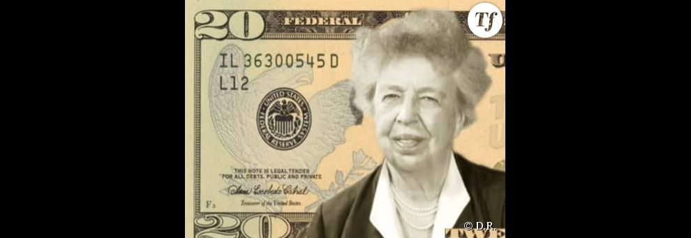Eleanor Roosevelt, l'épouse du président Franklin Delano Roosevelt, première femme à avoir véritablement incarné le rôle de First Lady.