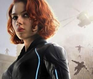 Scarlett Johansson alias Black Widow