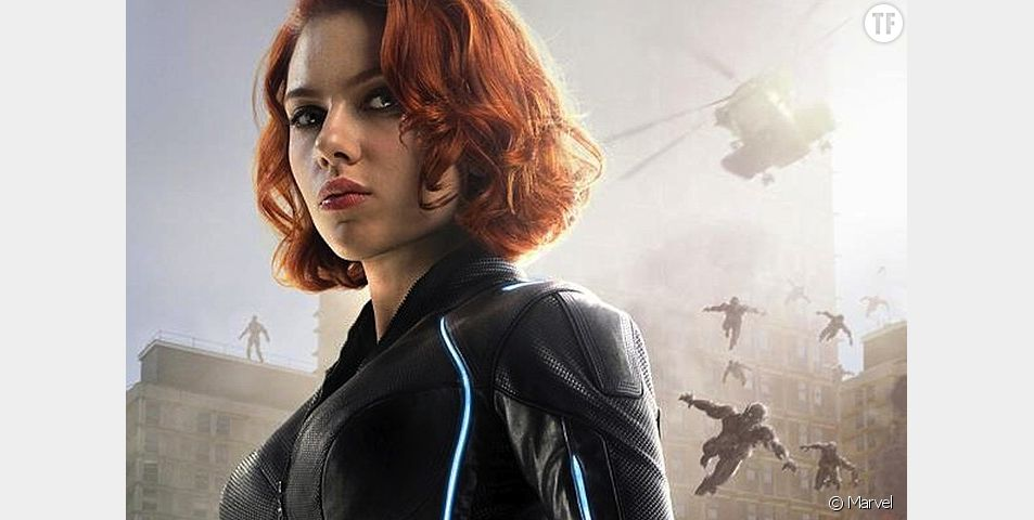 Scarlett Johansson alias Black Widow