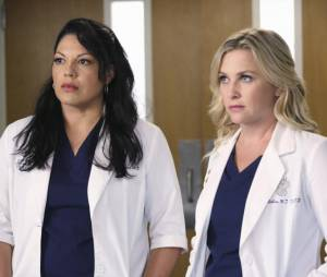 "Callie et Arizona dans ""Grey's Anatomy"""
