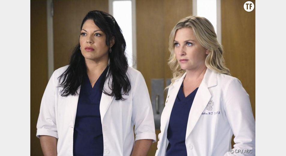 "Callie et Arizona dans ""Grey's Anatomy"""