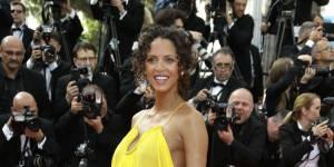 Noémie Lenoir : elle dévoile sa grossesse au Festival de Cannes 2015 (photos)