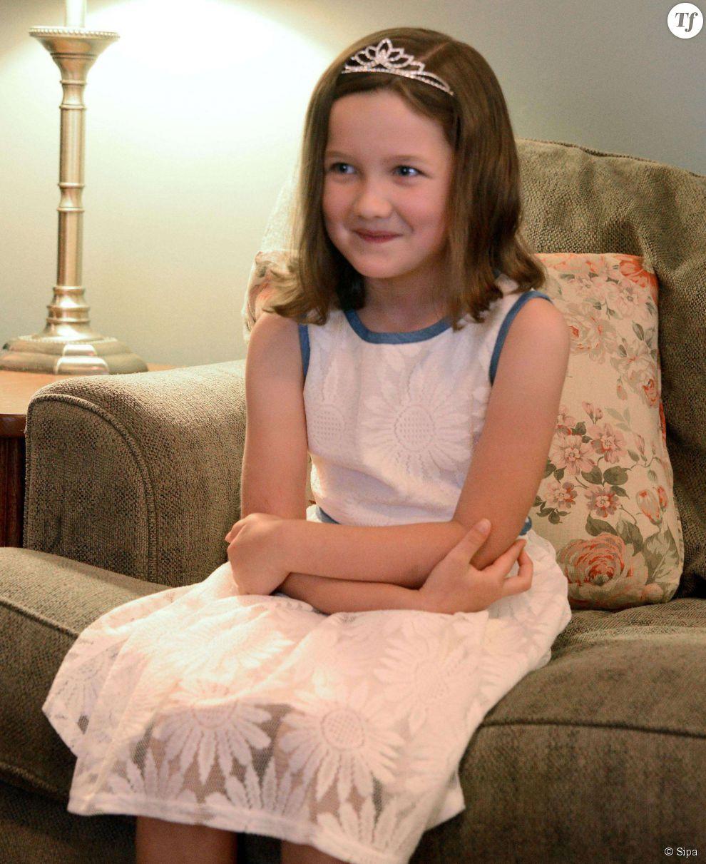 "La ""princesse"" Emily Heaton en juillet 2014"