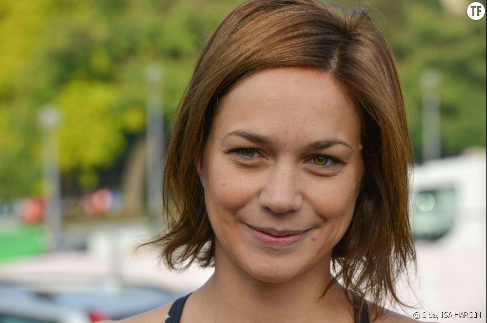 La patineuse et ex candidate de Danse avec les stars Nathalie Péchalat