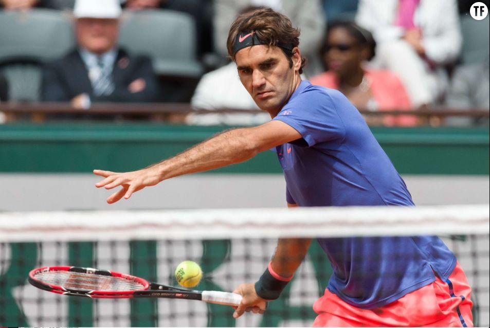 Le Suisse Roger Federer