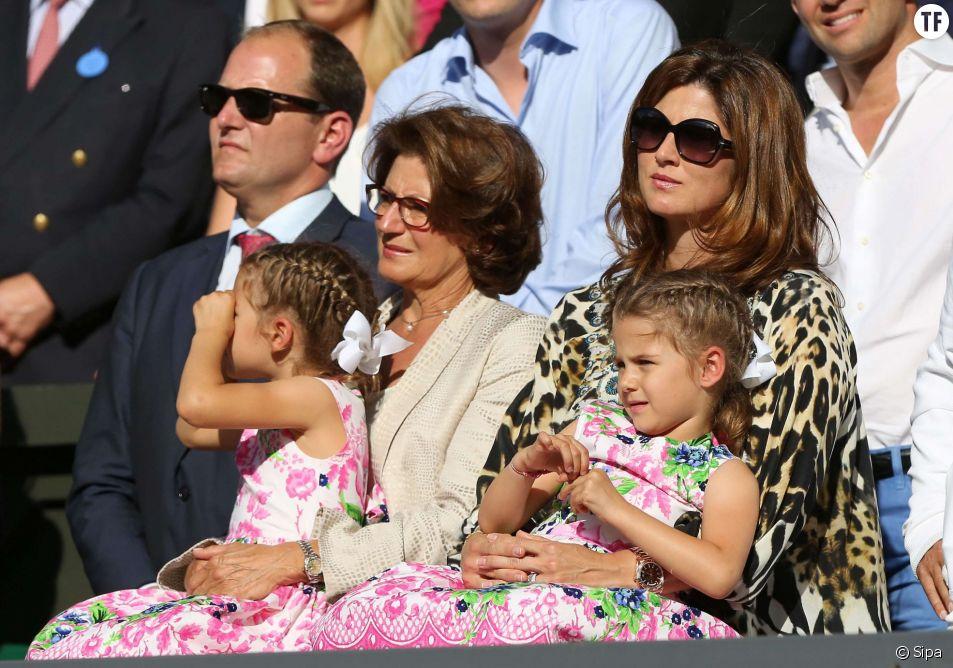 Mirka et sa tribu accompagnent Roger Federer dans l'ensemble des tournois ATP.