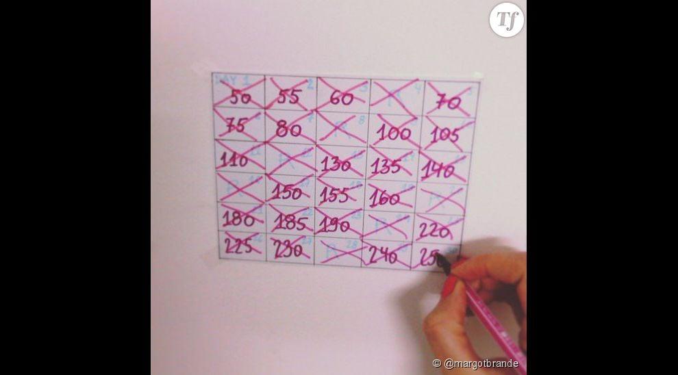 30 Days Squat Challenge : imprimez votre calendrier