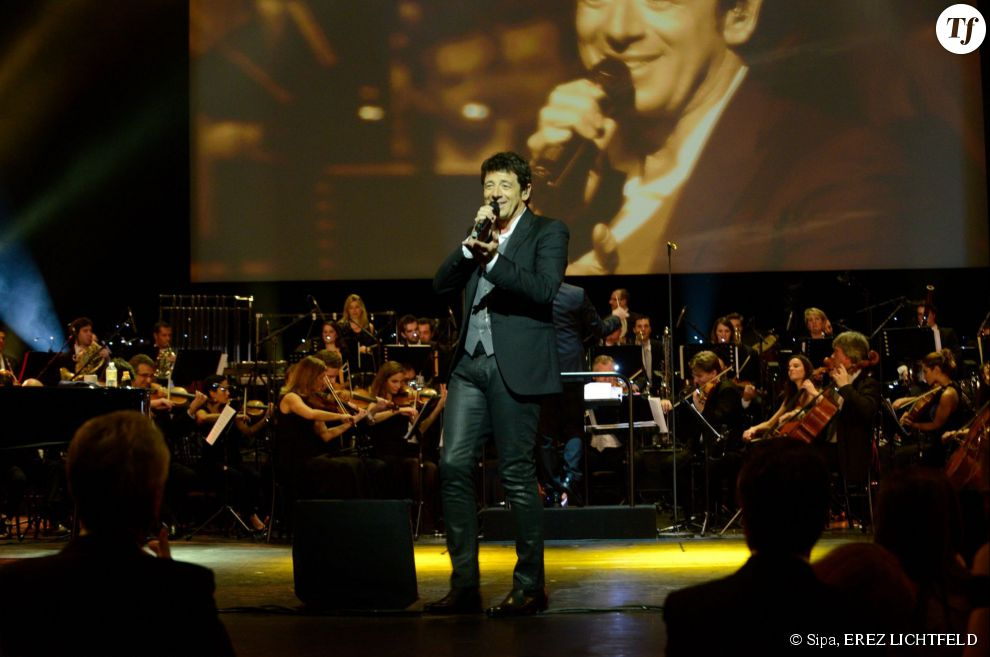 Patrick Bruel a chanté à l'Opéra Garnier le 12 janvier dernier.