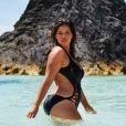 La mannequin grande taille Denise Bidot est âgée de 29 ans.
