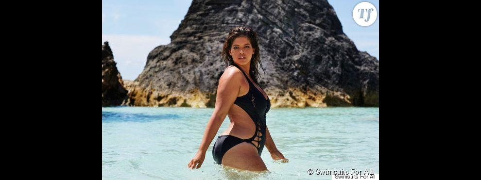 e6f000a6ff La mannequin grande taille Denise Bidot est âgée de 29 ans .
