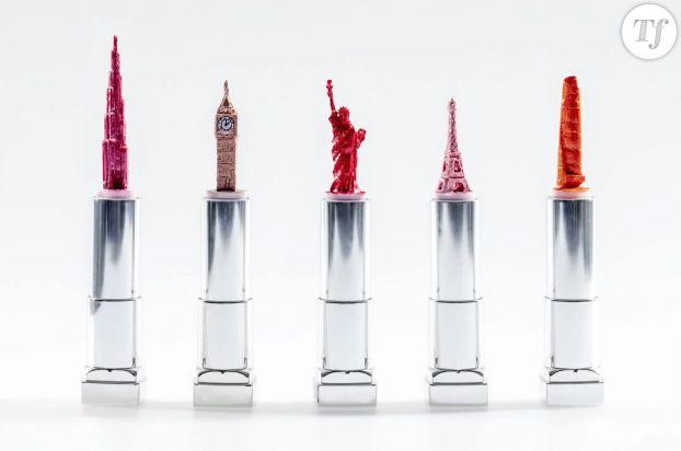 Les cinq rouges à lèvres bientôt mis en vente à l'aéroport d'Heathrow