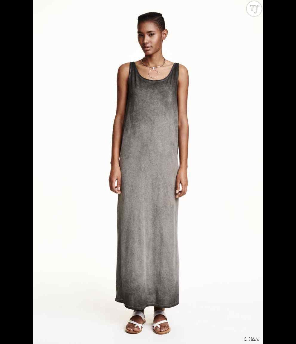 robe tshirt longue h m 29 99 terrafemina. Black Bedroom Furniture Sets. Home Design Ideas
