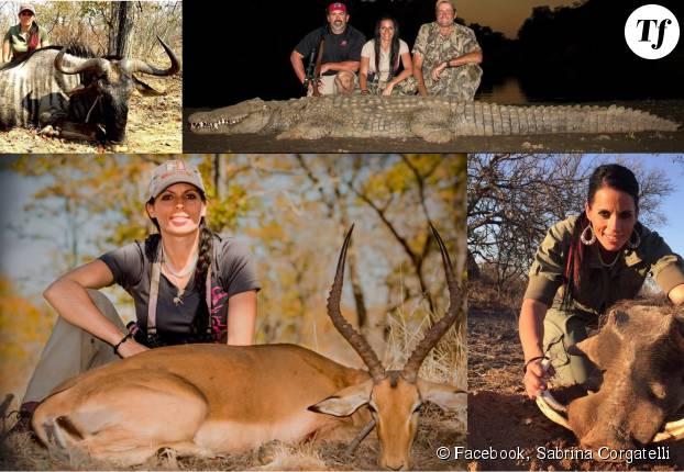 Sabrina Corgatelli tue tous les animaux qu'elle peut trouver, c'est sa passion...