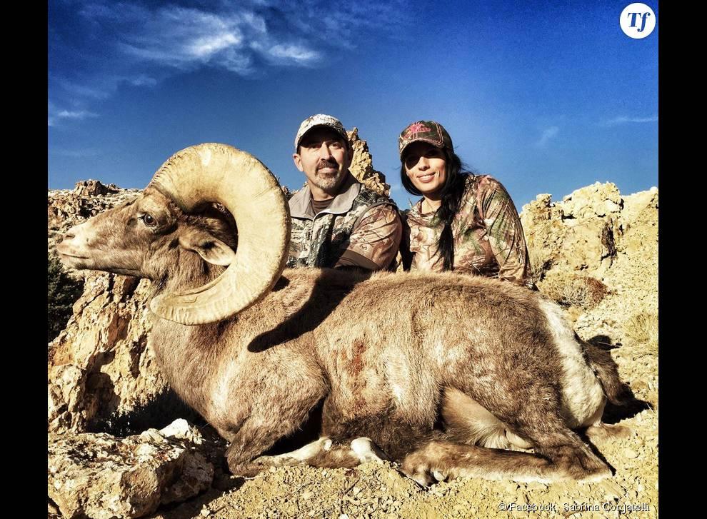 Ours, bélier, impala, si elle le pouvait Sabrina Corgatelli tuerait n'importe qu'elle espèce en liberté !