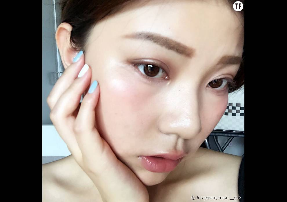 71179994f46 Voilà la dernière tendance beauté venue d  039 Asie   le Hangover make up