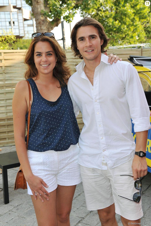Anouchka Delon et son compagnon Julien Dereims le 2 juillet 2015
