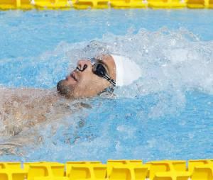La nageur français Camille Lacourt aux championnats du monde de natation de Kazan