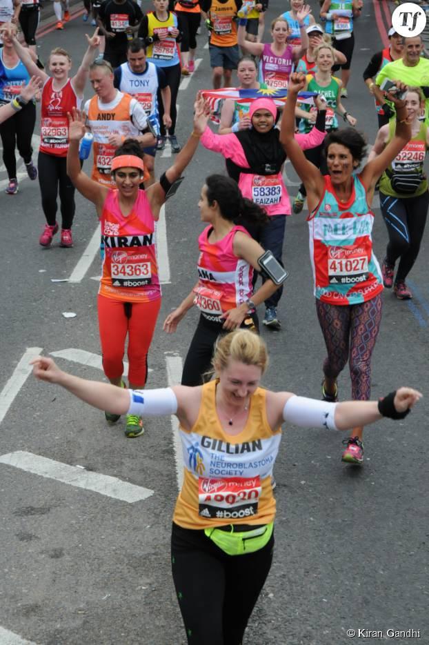 Kiran Gandhi a couru le marathon de Londres sans protection périodique, une première !