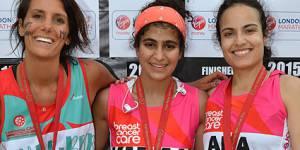 Elle court le marathon de Londres sans tampon pour briser le tabou des règles