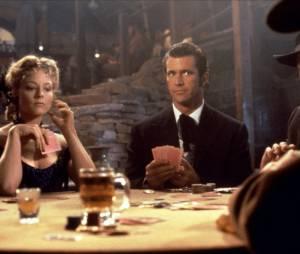 "Mal Gibson et Jodie Foster dans ""Maverick"""