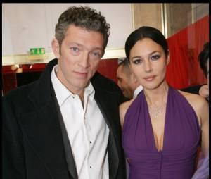 Vincent Cassel et Monica Bellucci aux César en 2009