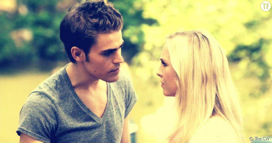 """Caroline et Stefan devraient rapidement former un couple solide dans la saison 7 de la série """"The Vampire Diaries""""."""