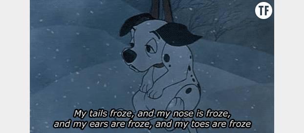 Quand on vous demande si vous avez froid ...