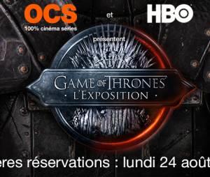 Game of Thrones : comment trouver des places pour l'expo en septembre à Paris