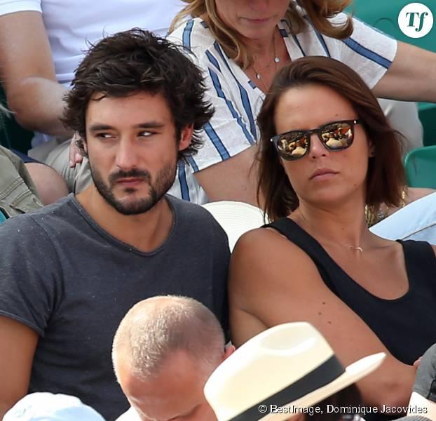 Laure Manaudou et Jérémy Frérot à Roland Garros