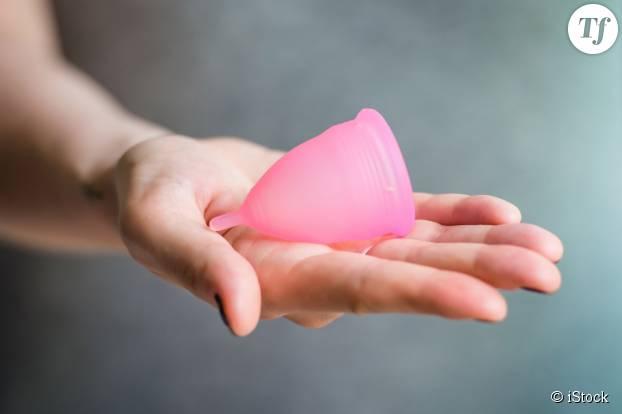 Une coupe menstruelle