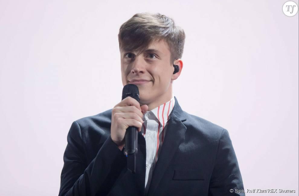 Le chanteur Loïc Nottet, représentant de la Belgique à l'Eurovision 2015