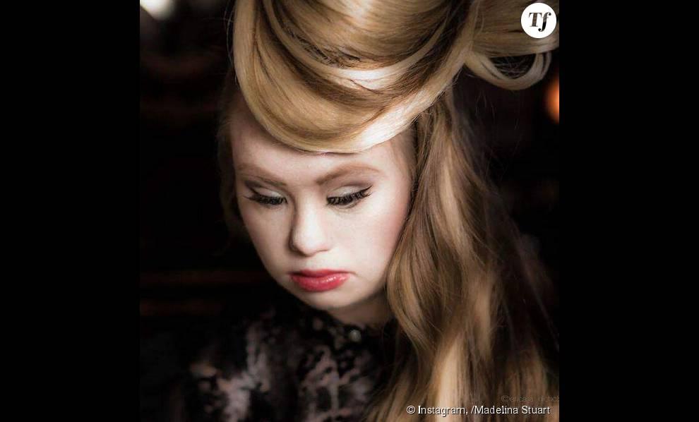 Madeline Stuart est une jeune mannequin australienne de 18 ans
