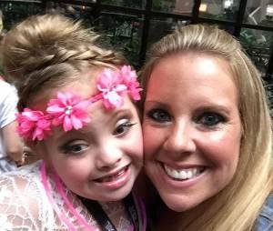 Kayla Kosmalski peut compter sur le soutien de sa maman, Amy.