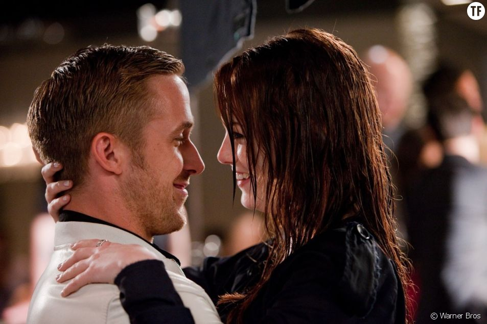Emma Stone et Ryan Gosling amoureux dans Crazy Stupid Love