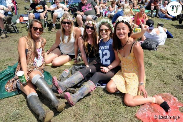 Festival de Glastonbury en Angleterre, le 28 juin 2014