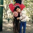 Brad Bellomo et sa petite fille Chloe