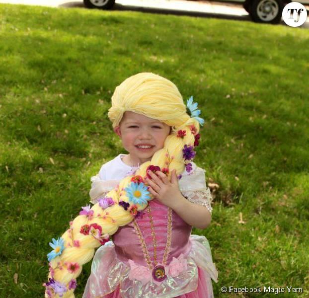 Coiffure princesse jasmine - Raiponce petite ...