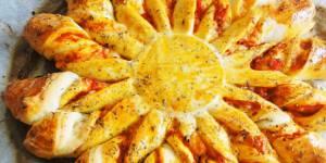 Tarte soleil : la recette salée façon pizza