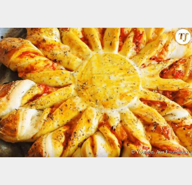 Tarte Soleil La Recette Salee Facon Pizza Terrafemina