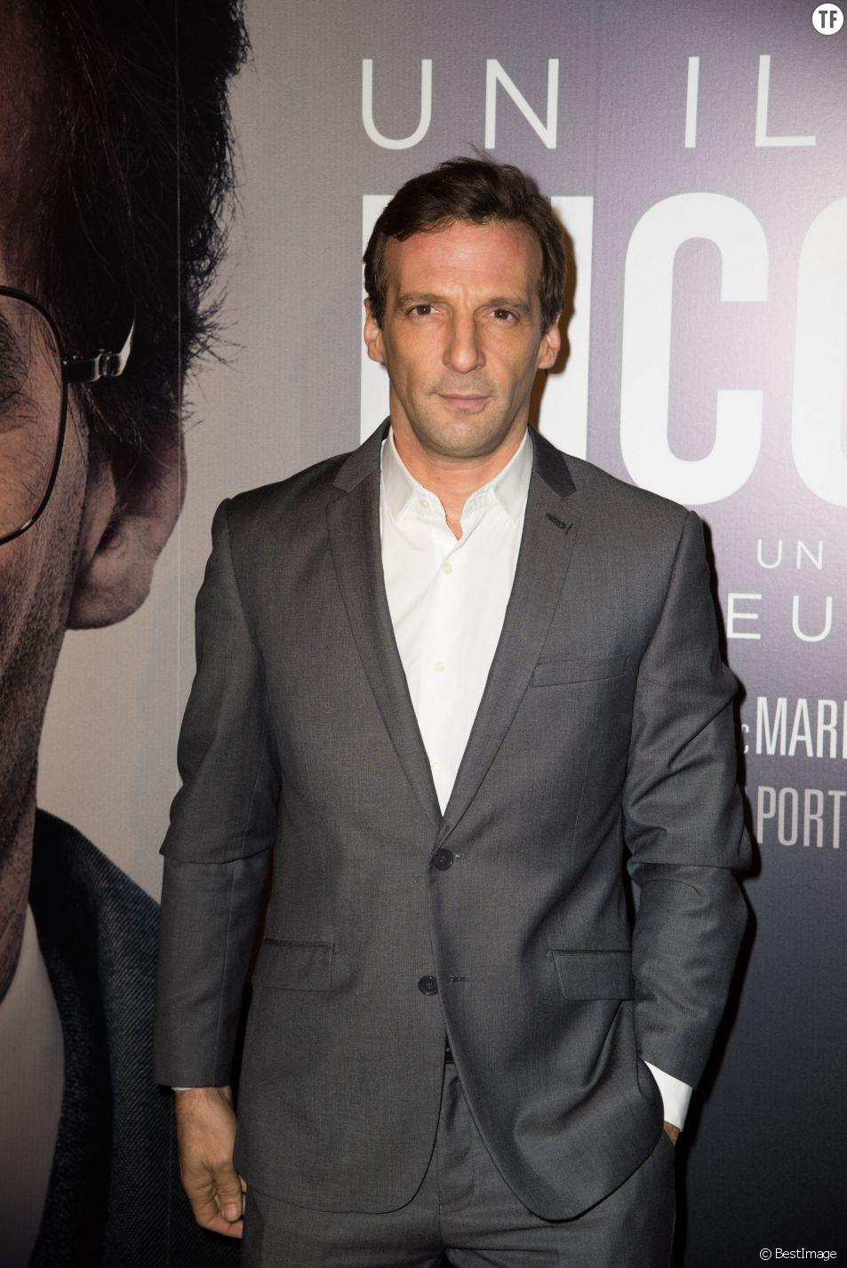 """Mathieu Kassovitz - Première du film """"Un illustre inconnu"""" au cinéma Gaumont Opéra à Paris, le 17 novembre 2014"""